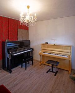 Klavier- und Cembalobaumeister Reinhold Pöhlmann , Himmelkron / Bayreuth
