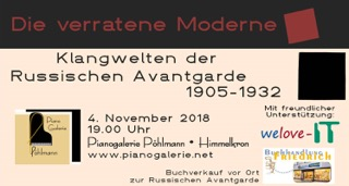 Klangwelten der Russischen Avantgarde 1905-1932