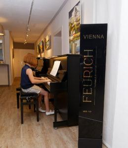 Ausstellung Pianohaus Bayreuth Kulmbach Probespielen