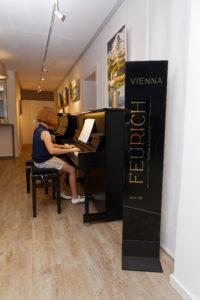 Ausstellung Pianohaus Bayreuth Probespielen