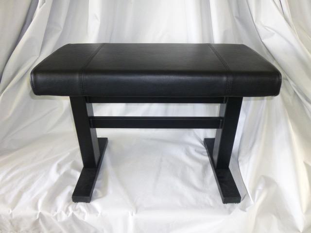 Stabile Design Hydraulikbank Gestell schwarz matt Polster Sky schwarz
